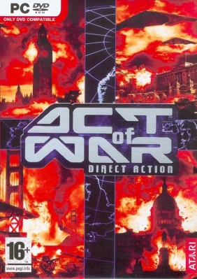 Act of War: Direct Action Steam Key cover