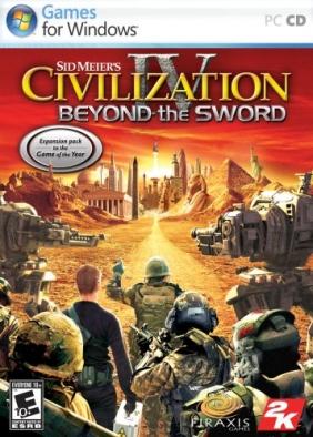 Sid Meier's Civilization IV : Beyond the Sword Steam Key cover