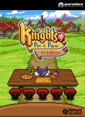 Knights of Pen and Paper + 1 Edition PC Digital cover