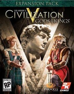 Sid Meier's Civilization V: Gods & Kings Steam Key cover