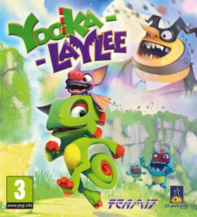 Yooka-Laylee Steam Key cover