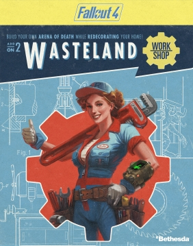 Fallout 4 - Wasteland Workshop DLC Steam Key cover