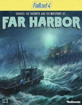 Fallout 4 - Far Harbor DLC Steam Key cover