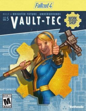 Fallout 4 - Vault-Tec Workshop DLC Steam Key cover