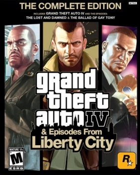 Grand Theft Auto IV: The Complete Edition (GTA) Steam Key cover