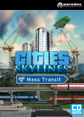 Cities Skylines - Mass Transit PC Digital cover