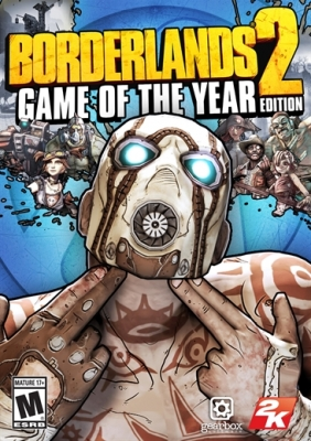 Borderlands 2: Game of the Year Edition Steam Key cover
