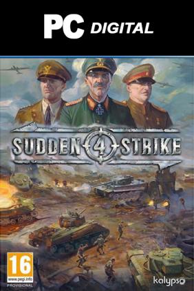 Sudden Strike 4 Steam Key cover