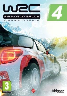 WRC 4 FIA World Rally Championship PC Digital cover