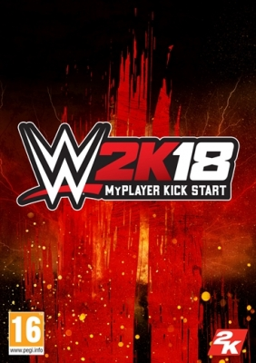WWE 2K18 - MyPlayer Kickstarter Pack Steam Key cover