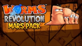 Worms Revolution - Mars Pack Steam Key cover