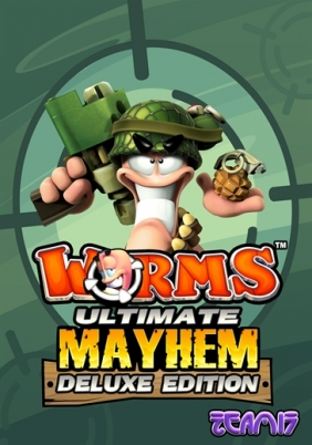 Worms Ultimate Mayhem - Deluxe Edition Steam Key cover