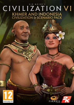 Sid Meier's Civilization® VI - Khmer and Indonesia Civilization & Scenario Pack Steam Key cover