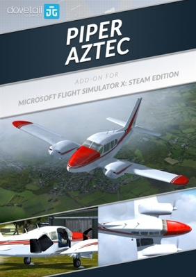 Microsoft Flight Simulator X: Steam Edition: Piper Aztec Add-On Steam Key cover