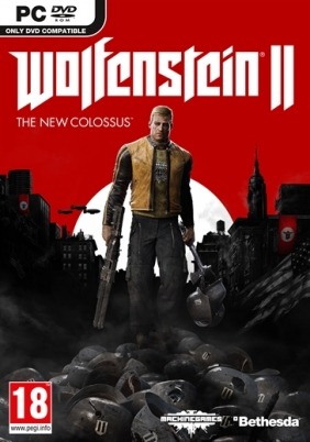 Wolfenstein II: The New Colossus Steam Key cover