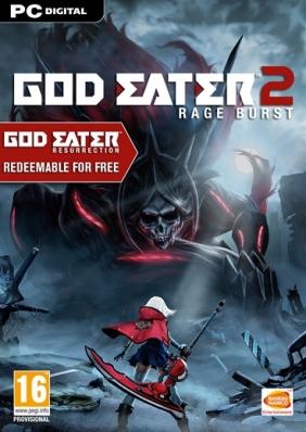 God Eater 2 Rage Burst Steam Key cover