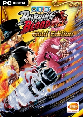 One Piece Burning Blood - Gold Edition Steam Key cover