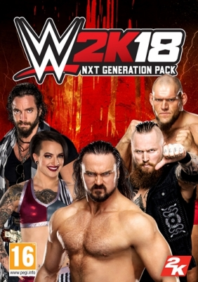 WWE 2K18 NXT Generation Pack Steam Key cover