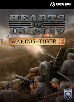 Hearts of Iron IV: Waking the Tiger Steam Key cover