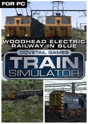 Train Simulator: Woodhead Electric Railway in Blue Route Add-On Steam Key cover