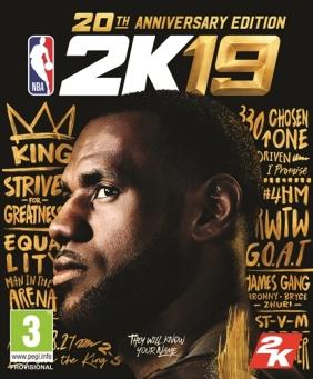 NBA 2K19 20th Anniversary Edition Steam Key cover