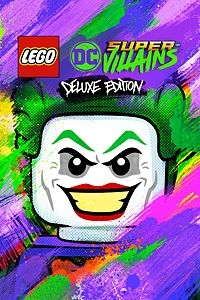 LEGO DC Super-Villains Deluxe Edition Steam Key cover