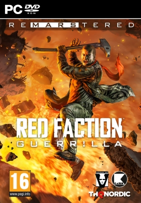 Red Faction: Guerrilla Re-Mars-tered Steam Key cover
