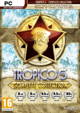 Tropico 5 - Complete Collection Steam Key cover