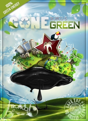 Tropico 5 - Gone Green Steam Key cover