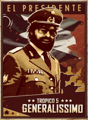 Tropico 5 - Generalissimo Steam Key cover