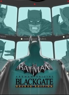 Batman™: Arkham Origins Blackgate - Deluxe Edition Steam Key cover