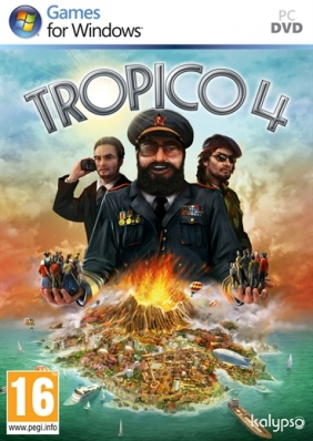 Tropico 4 Steam Key cover