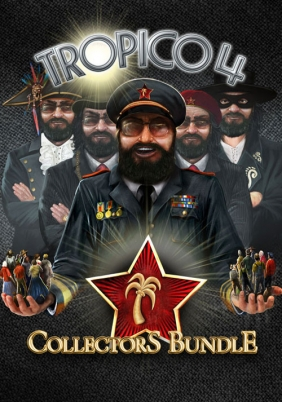 Tropico 4 Collector's Bundle Steam Key cover