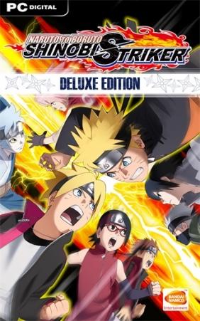 Naruto to Boruto: Shinobi Striker Deluxe Edition Steam Key cover