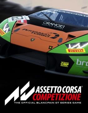 Assetto Corsa Competizione Early Access Steam Key cover