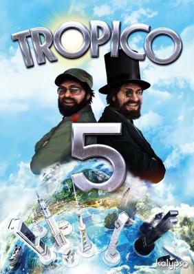 Tropico 5 Steam Key cover