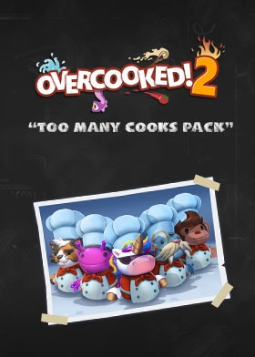 "Overcooked! 2  DLC ""Too Many Cooks"" Steam Key cover"