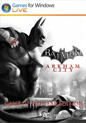 Batman : Arkham City - Game of the Year Edition Steam Key cover
