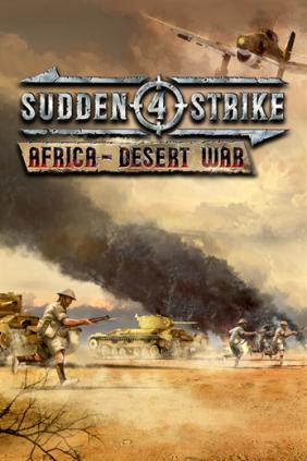 Sudden Strike 4 - Africa Desert War Steam Key cover