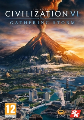 Sid Meier's Civilization® VI: Gathering Storm Steam Key cover