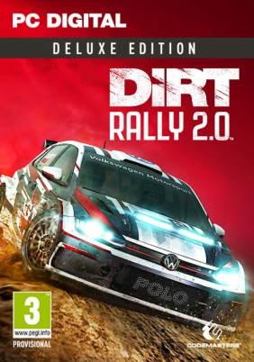 DiRT Rally 2.0 Deluxe Edition Steam Key cover
