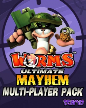 Worms Ultimate Mayhem - Multiplayer Pack Steam Key cover