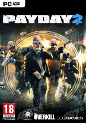 PAYDAY 2 Steam Key cover