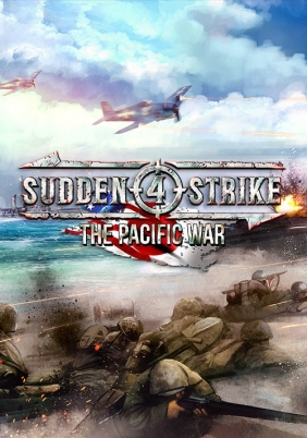 Sudden Strike 4: The Pacific War Steam Key cover