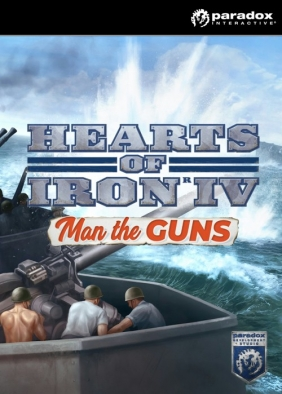 Hearts of Iron IV: Man the Guns Steam Key cover