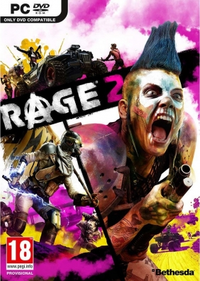 RAGE 2 Bethesda.net Key cover