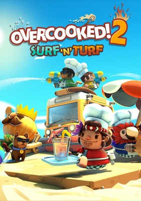 Overcooked! 2 - Surf 'n' Turf Steam Key cover