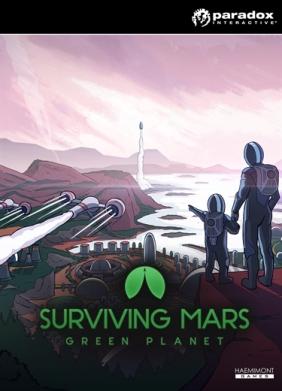 Surviving Mars: Green Planet Steam Key cover