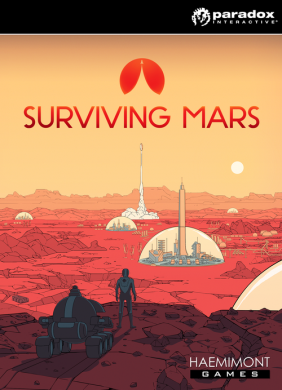 Surviving Mars PC Digital cover