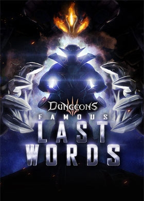 Dungeons 3 – Famous Last Words Steam Key cover